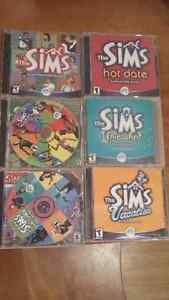 Old School Sims + 5 expansion packs