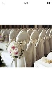 70 ivory banquet chair covers