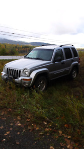 For sale 2002 jeep liberty  limited