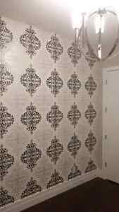 Wallpaper installer. Original pictures of my jobs Edmonton Edmonton Area image 2