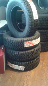 "(4) ""NEW"" 195-65-15 Firestone Winterforce snow tires"