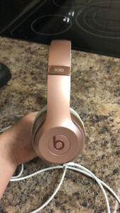 Rose gold beats solo 3 $250 or best offer!