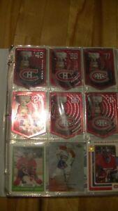 Cartes de hockey des Canadiens de Montréal