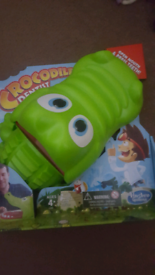 Hasbro crocodile dentist game new .