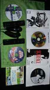 Wii+ smashbros+ 2remotesand nunchucks+more