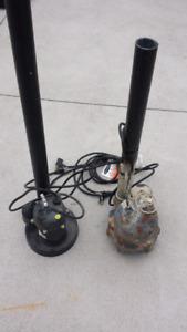 2 sub pump for sale