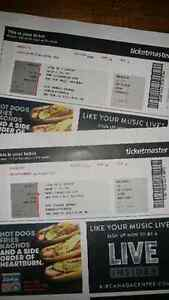 Red Hot Chili Peppers tickets.  Feb 4th, ACC Toronto
