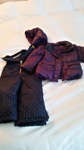 Baby Gap Down Filled Jacket and Snowpants Size 2T