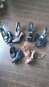 6 Pairs of Ladies shoes - size 10