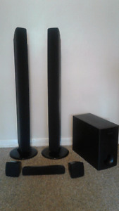 Samsung surround sound speakers only 5 speakers and SUB woofer