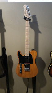LEFT HANDED FENDER SQUIRE TELECASTER FOR SALE OR TRADE