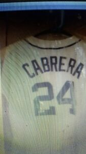 Autographed #24 - Cabrera Jersey- For Your Valentine