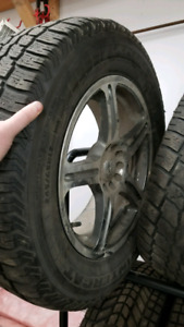 245 65 r17 winter rims and tires