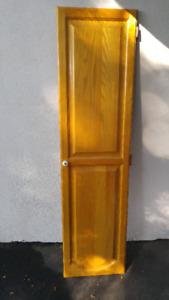 Portes d'armoires de cuisine en chene