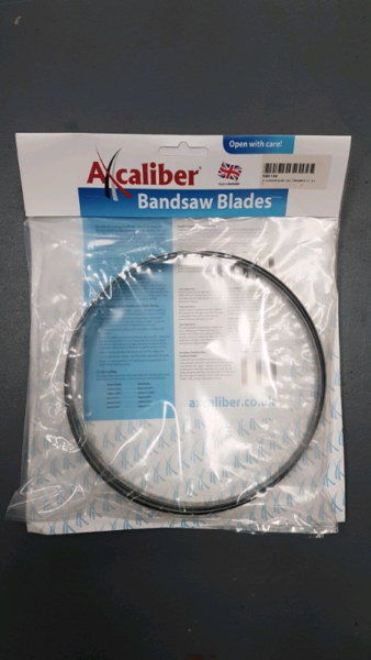 Axcaliber Ground Tooth Bandsaw Blade  for sale  Plymouth, Devon