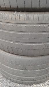 3 Michelin Lattitude SUV 295/35/21
