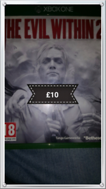 X box one. The evil within 2