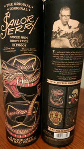 Sailor Jerry Prints and Cans to trade