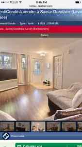 Condo for sale in laval. Visit and make an offer, must sell!