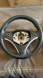 BMW Sport Steering wheel WITH buttons & trim!!