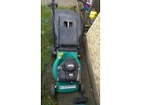 for sale Briggs and stratton classic 35 petrol rotary lawnmower