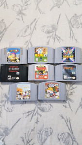 8 N64 Games for $90