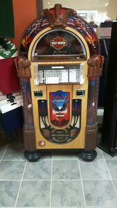 HARLEY DAVIDSON CD BUBBLER JUKEBOX