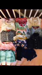Lightly Worn Girls Clothing 6-12 months
