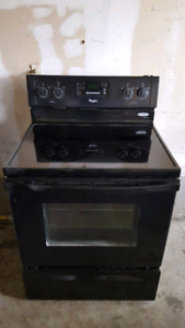 Whirlpool glass-top stove, free delivery