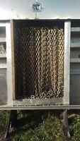 Trucking Chains and Binders for Flat Deck Trailer