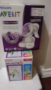 Avent breast pump (manual). Munchkin bottle warmer/sterilizer. London Ontario image 1