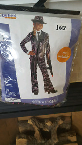 Gangster Girl costume. 8-10 years old.