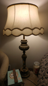 """2 Identical Large Tri Light (3 Settings) Lamps, $10 Each OBO"""