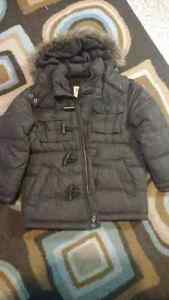 Old navy brown winter jacket. Size 5