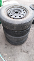 4 Tires with Rim for sale P185/65R14
