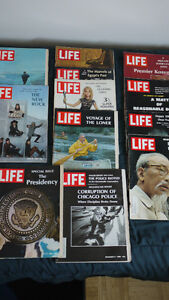 1960's LIFE MAGAZINES IN GOOD TO EXCELLENT CONDITION