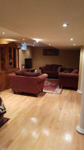 2 bedroom basement available for rent -Airport/sandalwood