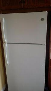 Clean fridge and stove