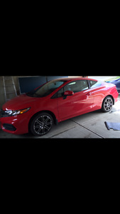 2014 Honda Civic LX Coupe (2 door) w/ car starter, winter tire