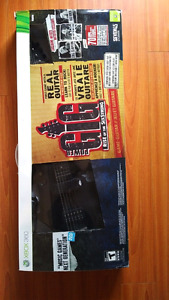 Power Gig - Game and Guitar Xbox 360 (Like New)