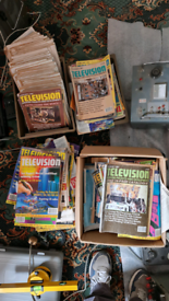 Approx 200 80s/90s Television Service Magazine