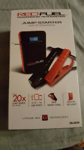 RED FUEL JUMP STARTER