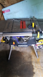 Table saw like new