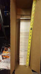 1000+ hockey cards - Mostly 91-92 plus some older ones