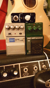 Pedals! Distortion, Fuzz, Phaser, Trem, Ring Mod