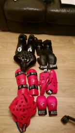 Martial arts equipment.