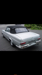 Mercedes 220,250 s convertible wanted