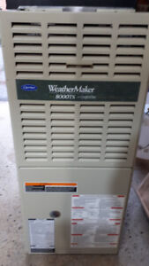 NATURAL GAS FURNACE WEATHERMAKER 8000TS