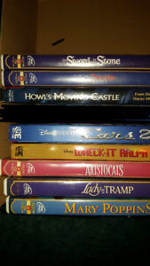 DISNEY DVD COLLECTION AND A FEW BLURAYS FOR SALE