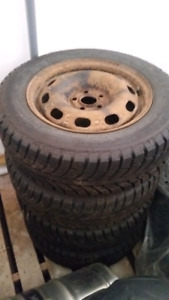 VW/Subaru/Dodge/Chevy 195/65/15 Winter Tires on 5x100mm Rims